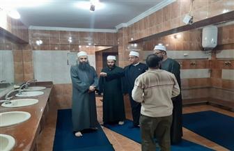 وكيل أوقاف السويس يقود حملة لتعقيم المساجد | صور