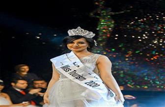 هبة فؤاد الوصيفة الثانية في مسابقة ملكة جمال الأناقة ٢٠٢٠  تتحدث عن لقب miss tourism الشرفي
