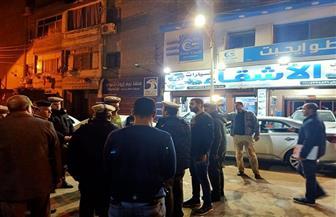 محافظ كفر الشيخ يقود حملة لغلق المطاعم والمقاهي والمحلات التجارية | صور