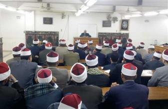 الأوقاف تطلق البرنامج التأهيلي السابع لتدريب 155 إماما بمسجد النور |صور