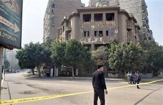انهيار جزئي بعقار طراز معماري متميز يتسبب في غلق شارع بيروت بمصر الجديدة