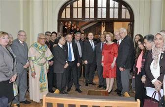 رئيس جامعة حلوان يستقبل رئيس البرلمان النمساوي | صور
