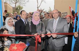 وزيرة التضامن ومحافظ بني سويف يفتتحان دار فاقدي الرعاية في بني سويف | صور
