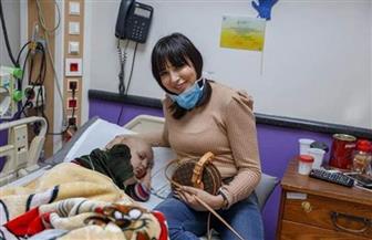 ساندي في زيارة لمستشفى 57357
