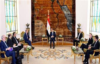 الرئيس السيسي يستقبل رئيس البرلمان النمساوي