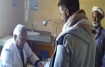 الكشف على 92  حالة خلال حملة طبية مجانية بالبحر الأحمر|صور