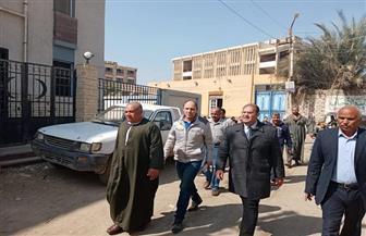 نائب محافظ الجيزة يتفقد قرية القبابات بأطفيح | صور
