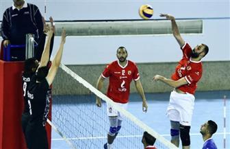 «رجال طائرة الأهلي» يتأهل لربع نهائي كأس مصر