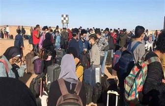 وزيرة الهجرة: نجاح عبور ١٧٠٠ من الطلاب العالقين بالسودان | صور