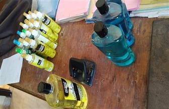 ضبط مصنعين بدون ترخيص لإنتاج الكحول والخل بالبحيرة