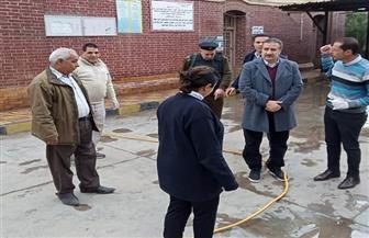 محافظ المنوفية يتفقد تطهير مستشفى الرمد في شبين الكوم| صور