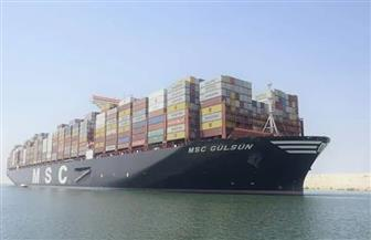 30 سفينة إجمالي حركة سفن الحاويات والبضائع بموانئ بورسعيد