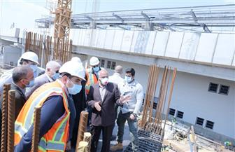 """وزير النقل يتابع أعمال تنفيذ مشروع القطار الكهربائي """"السلام /العاصمة الإدارية الجديدة/ العاشر من رمضان"""""""