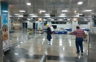 حملات تعقيم موسعة وشاملة بالمطارات ومبنى مصر للطيران للصيانة وأكاديمية علوم الطيران