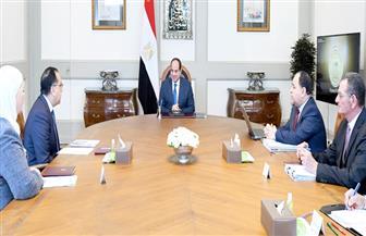 """الرئيس السيسي يناقش إجراءات الحكومة لمواجهة أزمة """"كورونا"""""""
