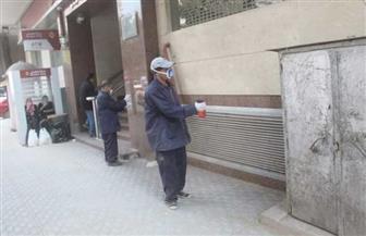 محافظة الجيزة توزع كمامات ومطهرات على عمال النظافة لمواجهة الكورونا | صور