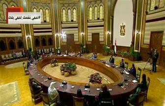 """الرئيس السيسي يدعو المواطنين للالتزام بالضوابط والتعليمات الاحترازية لمدة أسبوعين لحصار """"كورونا"""""""