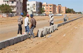 محافظ جنوب سيناء يتفقد عددا من مشروعات التطوير وإنشاء محاور مرورية جديدة | صور