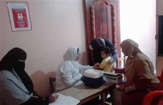"""""""صحة الفيوم"""": تطعيم 593 ألفا و855 طفلا ضد الحصبة والحصبة الألمانية"""