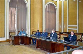 نائب وزير الإسكان للبنية الأساسية وقيادات قطاع المرافق يناقشون خطة الدولة لترشيد استهلاك المياه   صور