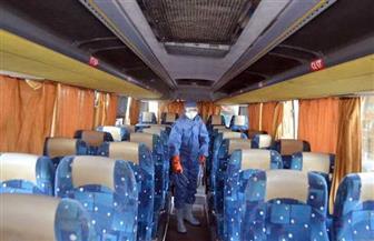 إجراءات وقائية مشددة بشركات النقل التابعة لقطاع الأعمال للحد من انتشار كورونا | صور