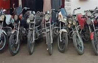 القبض على عصابة سرقة الدراجات النارية بـ 15 مايو