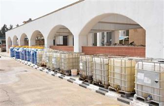 توزيع 600 طن من المواد المطهرة على مراكز ومدن الدقهلية وتوفير تحليل بي سي آر بالمستشفى الدولي |صور