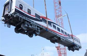 النقل: وصول العربة النموذج الأولى ضمن صفقة توريد 1300 عربة سكة حديد جديدة للركاب