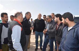 محافظ مطروح: الانتهاء من تطوير شاطئ روميل منتصف أبريل المقبل | صور