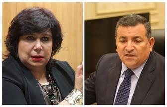 """وزيرا الثقافة والإعلام يتفقان على بث عروض """"الثقافة بين إيديك"""" في التليفزيون المصري"""
