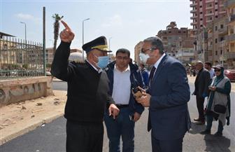 نائب محافظ الغربية يتابع أعمال الرصف بشوارع المحلة الكبرى | صور