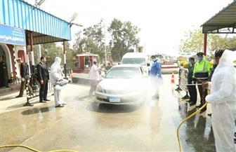 محافظ كفر الشيخ يتفقد أعمال التطهير والتعقيم بكمين القرضا | صور
