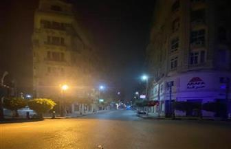شوارع القاهرة تخلو من المواطنين مع بدء سريان حظر التجوال| صور
