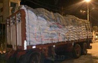 ضبط 70 طن سكر محملة على سيارة قبل بيعها في السوق السوداء بسوهاج