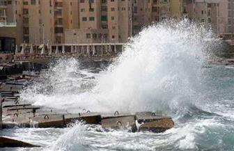 """نوة """"عوة"""" تضرب سواحل الإسكندرية بأمطار ورياح"""