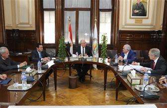 وزير الزراعة يبحث تداعيات أزمة فيروس كورونا على الصادرات الزراعية المصرية | صور