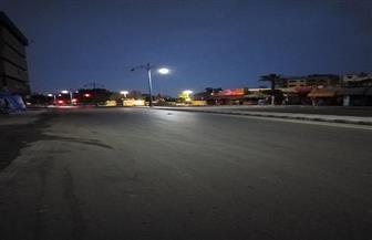 شوارع مدن مطروح خالية من المارة في اليوم الثاني لحظر التجوال|صور