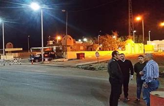 رئيس مدينة مرسى علم يتفقد الكمائن الأمنية وشوارع المدينة أثناء حظر التجول| صور