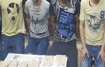 ضبط 4 من العناصر الإجرامية تخصصوا في الاتجار بالمواد المخدرة بسوهاج