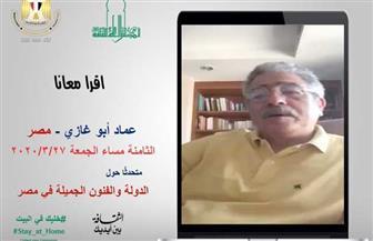 """عماد أبو غازي يقرأ """"الدولة والفنون الجميلة في مصر"""".. الليلة"""