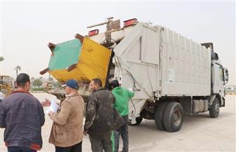 """""""6 أكتوبر"""" تضع خطة للقضاء على نباشي القمامة والارتقاء بمنظومة النظافة"""