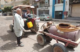 التزام كبير بقرارات غلق المحال التجارية.. واستمرار أعمال رش الشوارع بالكلور في الفيوم | صور