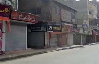في اليوم الثاني للإغلاق الكامل للأنشطة التجارية.. شوارع السويس الرئيسية خالية من المواطنين | صور