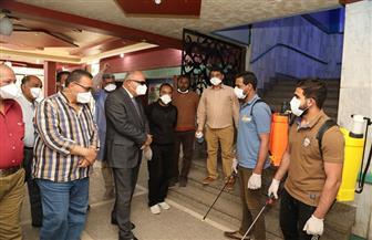 محافظ قنا يتابع مستوى الخدمة الطبية بالمستشفى العام| صور