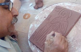 مجسمات القديسة «فيرينا» بجراجوس.. المصرية التي علمت أوروبا النظافة وعالجت المرضى | صور
