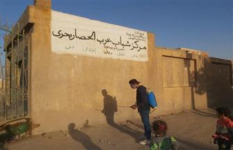 فرق «مستقبل وطن» تواصل عمليات التعقيم والتطهير لمواجهة «كورونا» في مراكز محافظة الجيزة