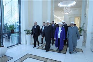 """شيخ الأزهر بمؤتمر """"الماتريدي"""" الدولي في أوزباكستان: الأمة الإسلامية اليوم في مفترق طريقين لا ثالث لهما"""