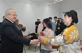 رئيس جامعة القاهرة: نحب طلاب الصين بقدر حبهم لمصر ونكرم ضيافتهم كأبنائنا