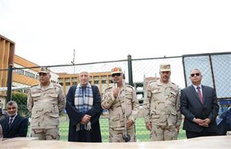 """تكريم والد الشهيد """"الجندي"""" في مدرسة محمد صلاح الثانوية العسكرية بالغربية  صور"""
