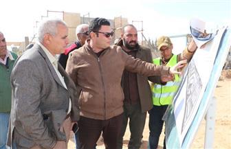بهجات ورئيس جهاز تنمية 6 أكتوبر يتفقدان مشروع الموقف الإقليمي بالمدينة| صور
